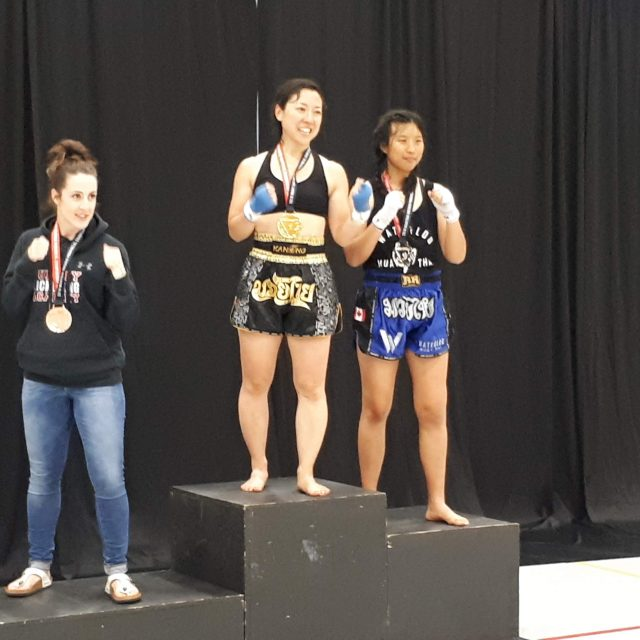 Hyedie Hashimoto Muay Thai Provincial Champion