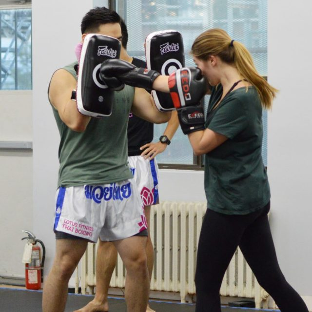 Muay Thai Beginner Jab Cross