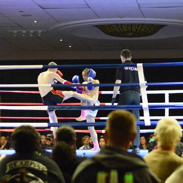 Dan Sopa TKO Charles Chen Lotus Muay Thai Ontario